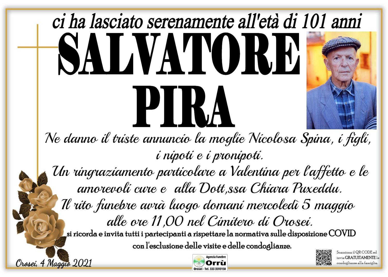 MANIFESTO Salvatore Pira