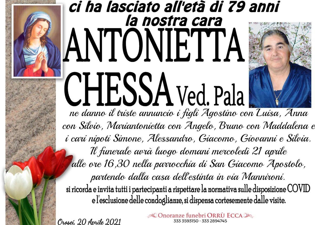 MANIFESTO Antonietta Chessa