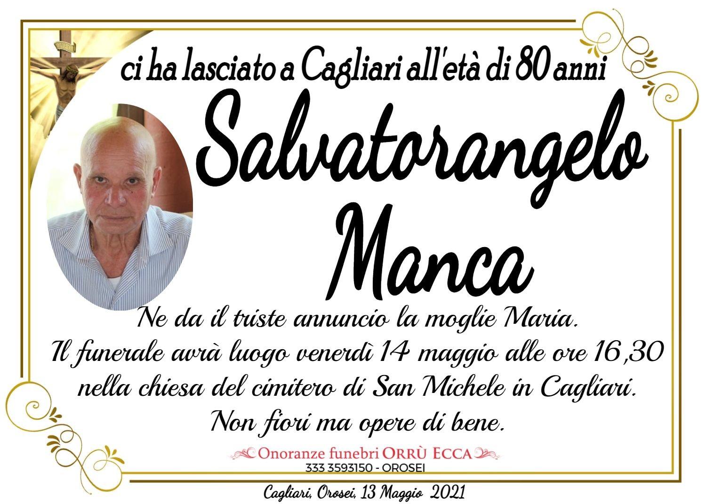 MANIFESTO Salvatorangelo Manca