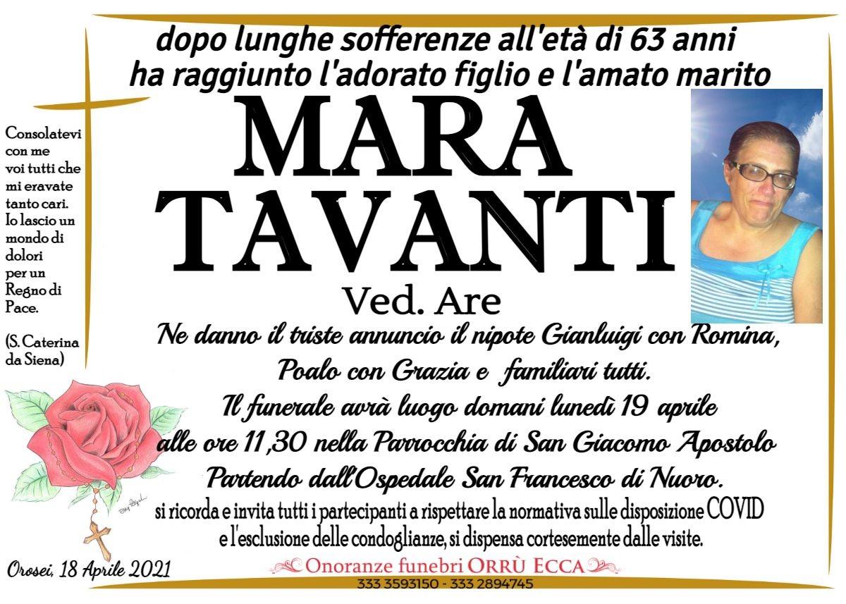 MANIFESTO Mara Tavanti