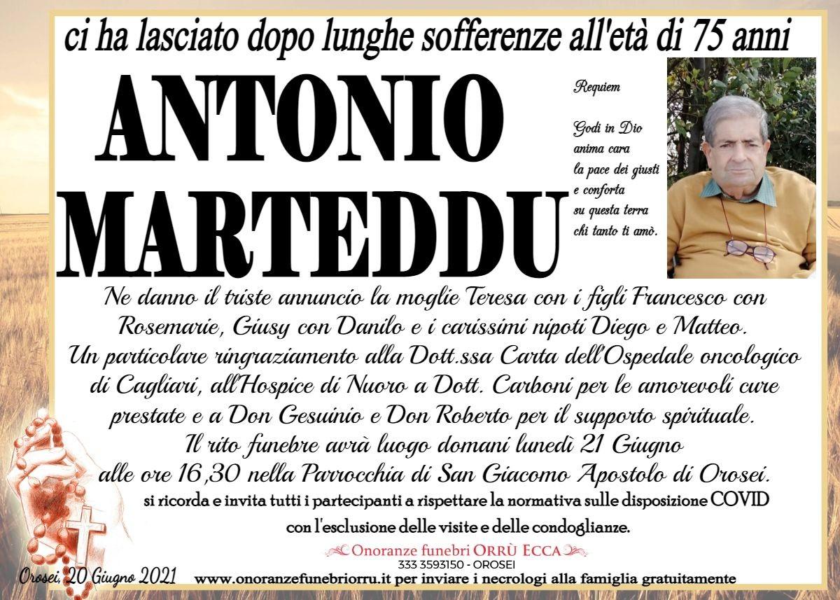 MANIFESTO Antonio Marteddu