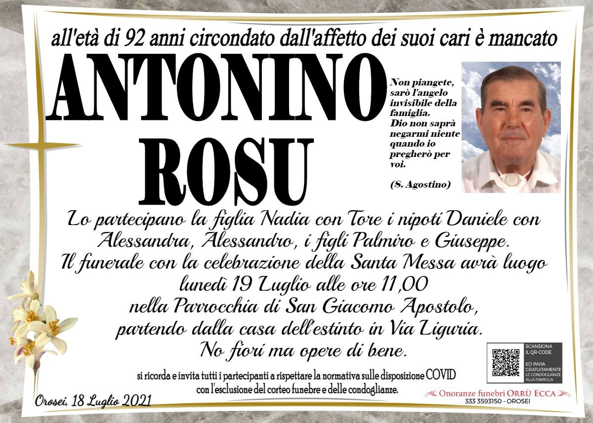 MANIFESTO Antonino Rosu