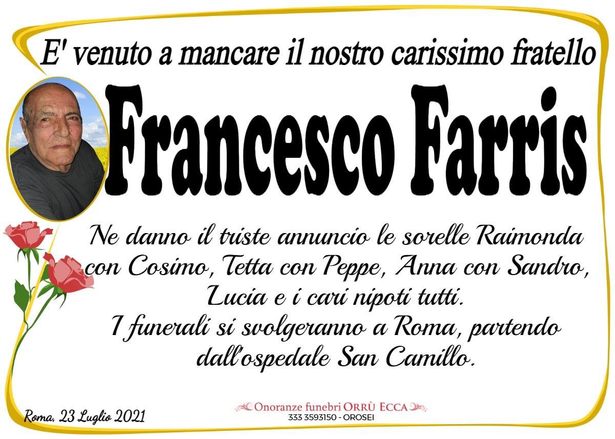 MANIFESTO Francesco Farris