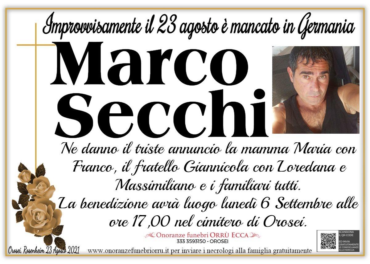 MANIFESTO Marco Secchi